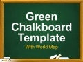 Green Chalkboard Template