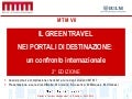 Green Travel in Destination Websites - seconda edizione 2011 (BIT)