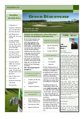 "Golf Magazin ""Green Discoverer"" Mar..."