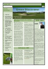 "Golf Magazin ""Green Discoverer"" Feb..."