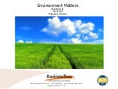 Environmental ISO 14001 Intro