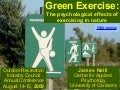 Green exercise: The psychological effects of exercising in nature