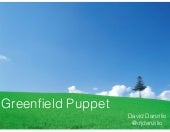 Puppet Camp Boston 2014: Greenfield Puppet: Getting it right from the start (Beginner)