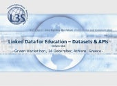 Open Educational Data - Datasets an...