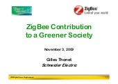 ZigBee Contribution to a Greener So...