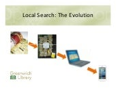 Greenwich library workshop local search 11.24.15