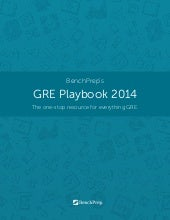 Excerpts from the GRE Playbook 2014