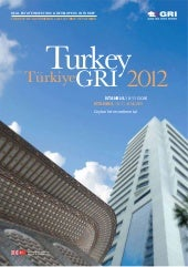 TURKEY GRI 2012 - PROGRAM BOOK