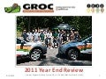 GROC 2011 Year End Review