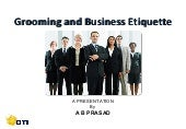 Grooming and business etiquette