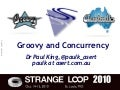 groovy and concurrency