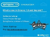 Groovy Update, what's new in Groovy...