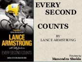 Every second counts-MANENDRA SHUKLA