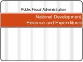 National Development and Revenue Ex...