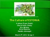 Group 3 estonia presentation 3 6-12