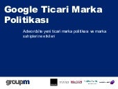 GroupM Search Turkey-Google Tradema...