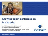 Growing sport participation in vict...