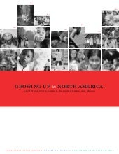 Growing up in north america report