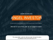 How to be an Angel Investor, Part 3