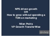 NPS Driven Growth or How to grow your startup w