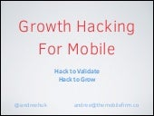 Growth Hacking For Mobile - Hack 2 ...