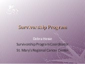 Survivorship Program Examples