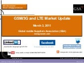 GSMA HSPA and LTE market update - M...