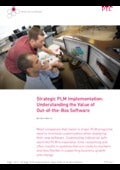 Strategic PLM Implementation: Understanding the Value of Out-of-the-Box Software