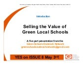 Selling the Value of Green Local Sc...