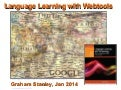 Language Learning with Webtools 2014
