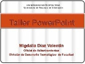 G:\Taller Power Point