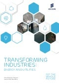 Paper: The Internet of Things is transforming the energy and utilities industries