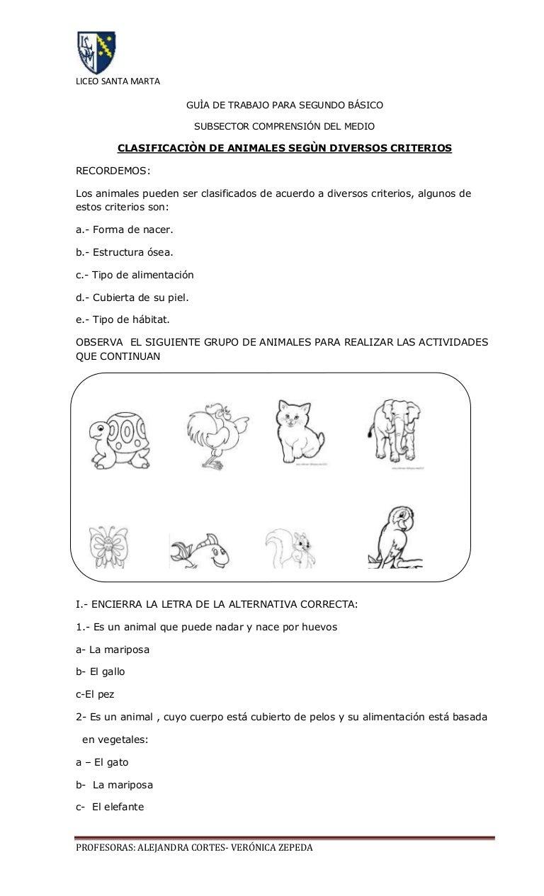 Las ciencias y los animales