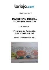 Guía marketing digital contenidos 2.0
