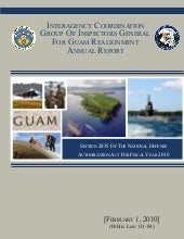 Guam Realignment Annual Report 2010
