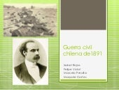 Guerra civil chilena de1891