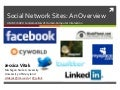 Social Network Sites: An Overview