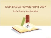 Guia basica power point 2007