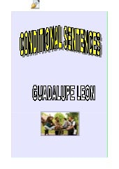CONDITIONAL SENTENCES (RULES AND EX...
