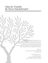 Guia do usuario do novo family search