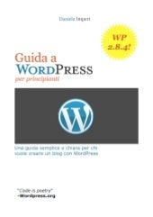 Guida Wordpress per principianti - ...