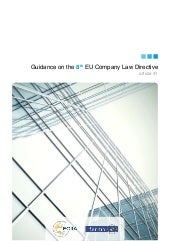 Guidance on the 8th EU Company Law ...