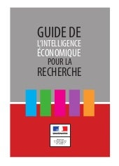 GUIDE DE L'INTELLIGENCE ÉCONOMIQUE...