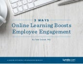 3 Ways Online Learning Boosts Employee Engagement
