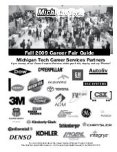 Fall 2009 Career Fair Guidebook