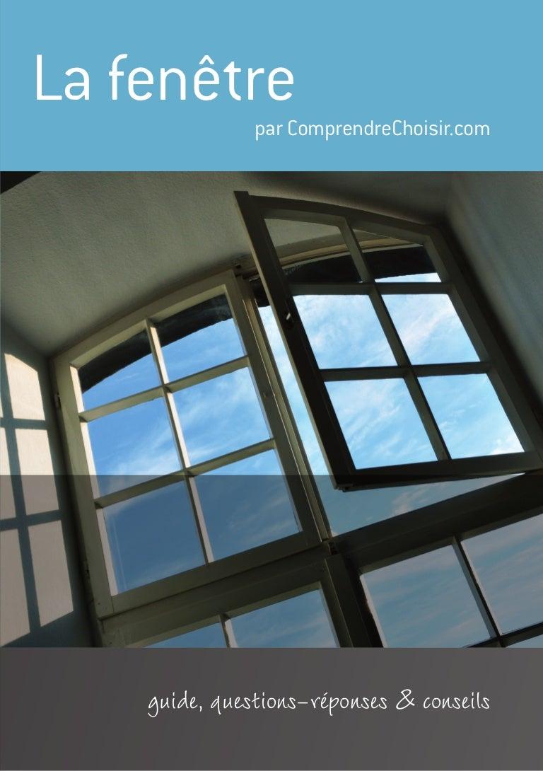 Guide de la fenêtre