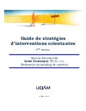 Guide de stratégies d'intervention ...