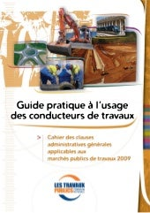 Guide du conducteur de travaux