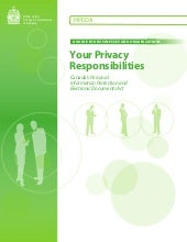 Your Privacy Responsibilities Guide