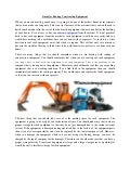 Guide for renting construction equipment